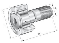 INA NUKR62 Stud type track roller