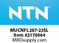 NTN MUCNFL207-23SL Mounted Units (Plastic)