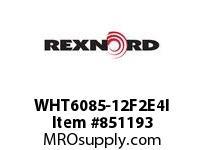 REXNORD WHT6085-12F2E4I WHT6085-12 F2 T4P N.75 WHT6085 12 INCH WIDE MATTOP CHAIN W