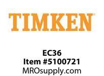 TIMKEN EC36 SRB Plummer Block Component