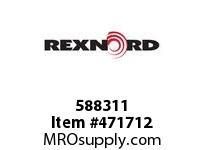 REXNORD 172387 588311 350.S71-8.HUB LG RB