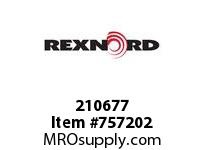 REXNORD 210677 DF140-V 348 EXT PIN 1/2-13 X 2.00