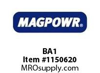 MagPowr BA1 Bottom Plate Adapter for Size C UNDER PILLOW BLOCK MOUNTING LOAD CE