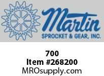 Martin Sprocket 700 WROESGLBK3/8