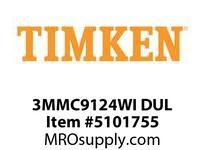 TIMKEN 3MMC9124WI DUL Ball P4S Super Precision