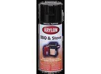 KRY K01618 High Heat Paint Stove Paint Black Krylon 16oz. (6)