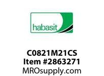 Habasit C0821M21CS 821 21T Carbon Steel - MPB