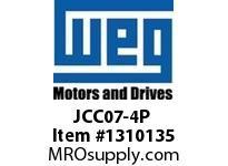 WEG JCC07-4P 4P 7A 4NO CONTACTS CWC AC COIL Contactors