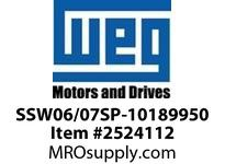WEG SSW06/07SP-10189950 SCR MODULE 273A 1600V Drives