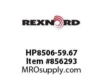 REXNORD HP8506-59.67 HP8506-59.66 HP8506 59.67 INCH WIDE MATTOP CHAIN