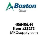 BOSTON 450H50.49 OLDHAM HUB BLIND 50 22MM-- OLDHAM HUB
