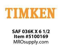 TIMKEN SAF 036K X 6 1/2 SRB Pillow Block Housing Only