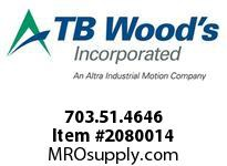 TBWOODS 703.51.4646 MULTI-BEAM 51 19MM--19MM