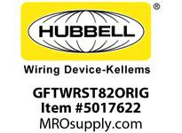 HBL_WDK GFTWRST82ORIG 15A HG TRWR ST ISO GR GFR ORANGE