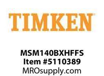 TIMKEN MSM140BXHFFS Split CRB Housed Unit Assembly