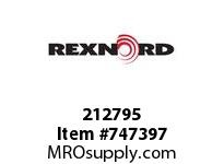 REXNORD 212795 20571 LKNUT STL M18 X 1.5