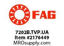 FAG 7202B.TVP.UA SINGLE ROW ANGULAR CONTACT BALL BEA