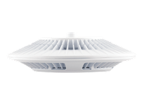 RAB PLED78NW PENDANT 78W 6X 13W NEUTRAL LED W/ CLEAR LENS WHITE