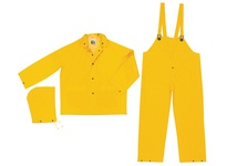 MCR 2303X3 Industry Grade PVC/Poly Suit 3 PC YELLOW