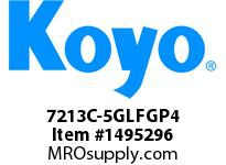 Koyo Bearing 7213C-5GLFGP4 PRECISION ANGULAR CONTACT BEARING