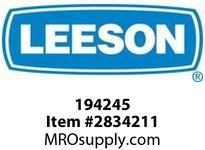 Leeson 194245 150HP1200RPM.445T.TEFC.460V.3PH.60H Z.CONT.40C.1.15SF.RIGIDROLLER BRGS :