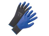 West Chester 713SPA/XS Blue PVC Palm Coat on Black 13 Gauge Nylon Liner. EN 4131