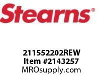 STEARNS 211552202REW CRP-55 LESS SHEAVE 8005278