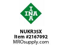 INA NUKR35X Stud type track roller