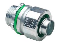 "Bridgeport 431-SLTG 3/4"" FE liquid tight connector with ground lug"