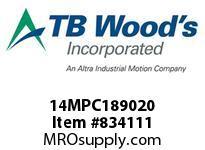 TBWOODS 14MPC189020 14MPC-1890-20 QTPCII BELT