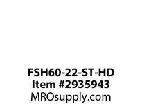 TBWOODS FSH60-22-ST-HD CPLG. W/ROUGH BORE STEEL HUB