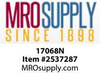 MRO 17068N 1/2 WHT NYLON COMPRESSION UNION