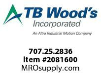 TBWOODS 707.25.2836 MULTI-BEAM 25 8MM--1/2