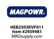 MagPowr HEB2503KVF011 HEB-250 PNEUMATIC BRAKE