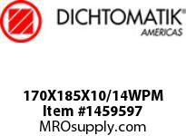 Dichtomatik 170X185X10/14WPM WIPER