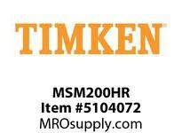 TIMKEN MSM200HR Split CRB Housed Unit Component