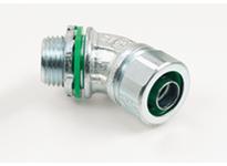 """Bridgeport 454-SLTI 1 1/2"""" liquid tight connector insluated"""