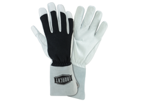 West Chester 9073/L Tig glove with premium goatskin both split and grain and Nomex fabric on the back of hand pre-curved fingers and Kevlar thread throughout.