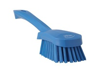 REMCO 41903 Vikan Scrub Brush Short Handle Brush- Soft- Blue (rep