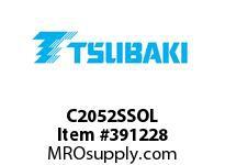"US Tsubaki C2052SSOL C2052SS""""304""""OFFSET LINK"