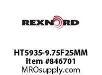 REXNORD HT5935-9.75F25MM HT5935-9.75 F25MM T4P