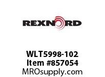 REXNORD WLT5998-102 WLT5998-102 WLT5998 102 INCH WIDE MATTOP CHAIN