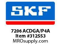 SKF-Bearing 7206 ACDGA/P4A