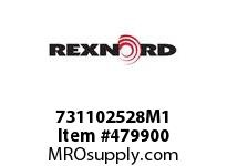 REXNORD 155397 731102528M1 V110M HCB 28MM H7 BORE