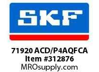 SKF-Bearing 71920 ACD/P4AQFCA
