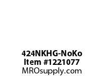 WireGuard 424NKHG-NoKo 4X4X24 NEMA TYPE-1 GUTTER