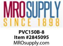 """MRO OPEN ENDS BY WIDTH MATERIAL:PVC150 BLACK C x FS WIDTH: 8"""""""