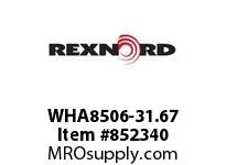REXNORD WHA8506-31.67 WHA8506-31.66 WHA8506 31.67 INCH WIDE MATTOP CHAI