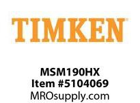 TIMKEN MSM190HX Split CRB Housed Unit Component