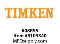 TIMKEN 608RSS Split CRB Housed Unit Component